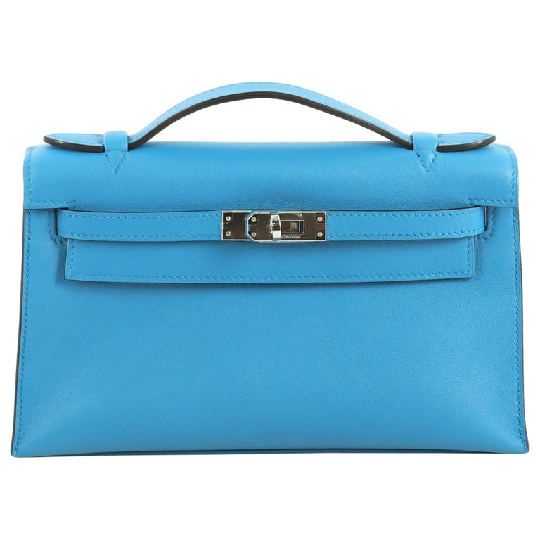 Hermes Kelly Pochette Swift For Sale