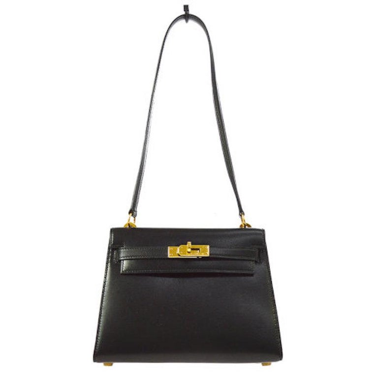 8ce624fab070 Hermes Kelly Small Leather Evening Shoulder Flap Bag in Box For Sale ...