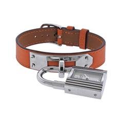 Hermes Kelly Steel Watch Bracelet