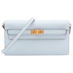 Hermès Kelly To Go Leather Clutch Bag