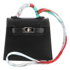 Hermes Kelly Twilly Bag Charm Tadelakt