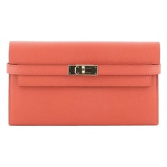 Hermes Kelly Wallet Epsom Long