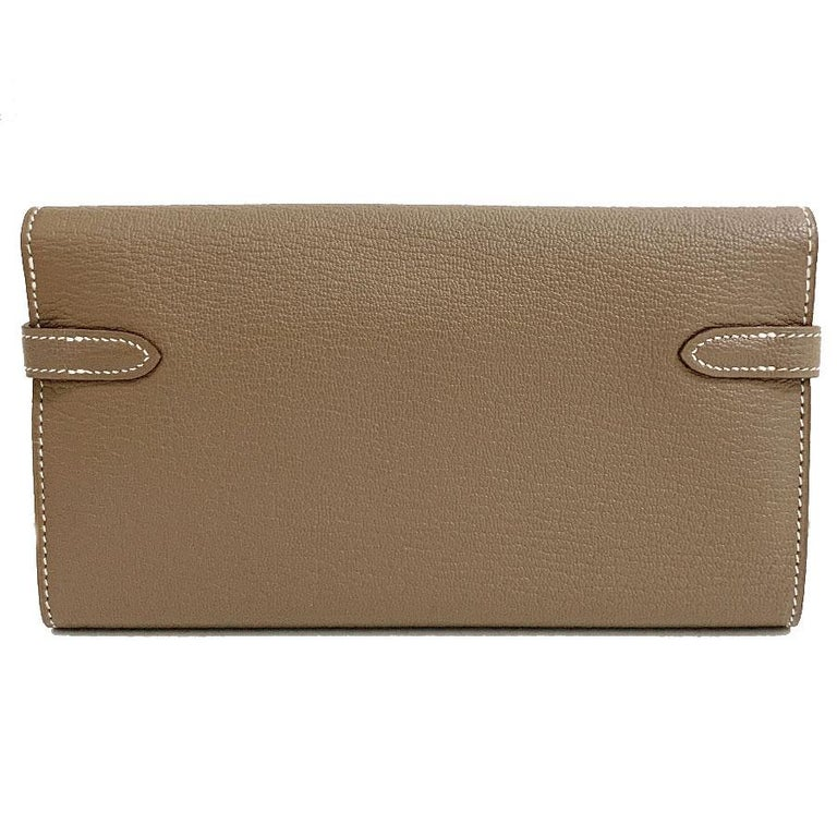 HERMES Kelly Wallet In New Condition For Sale In Paris, FR