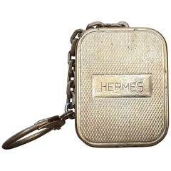 Hermès Keychain Key Ring Key Holder Reuge Sainte Croix Music Box
