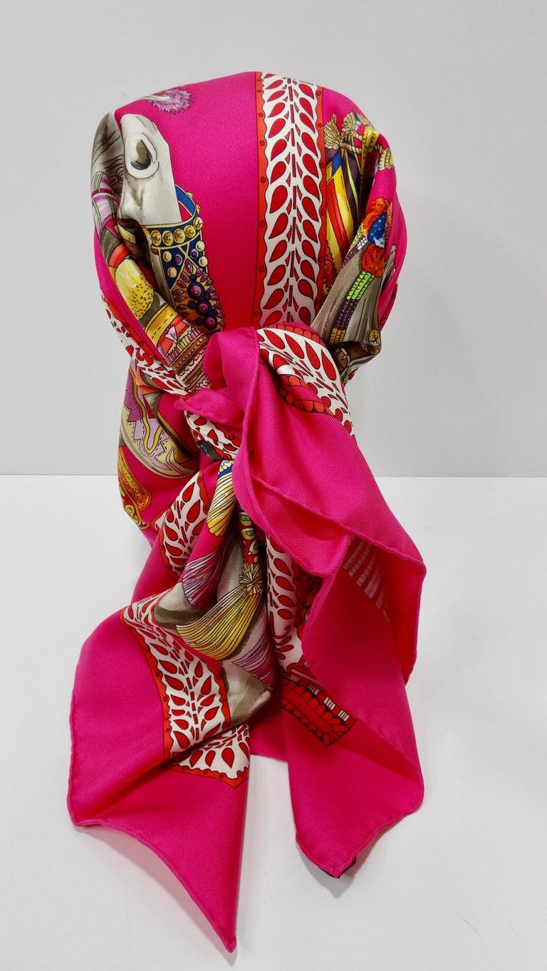 Hermès 'La Danse du Cheval Marwari' Silk Scarf  5