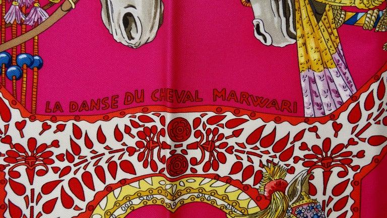 Women's or Men's Hermès 'La Danse du Cheval Marwari' Silk Scarf