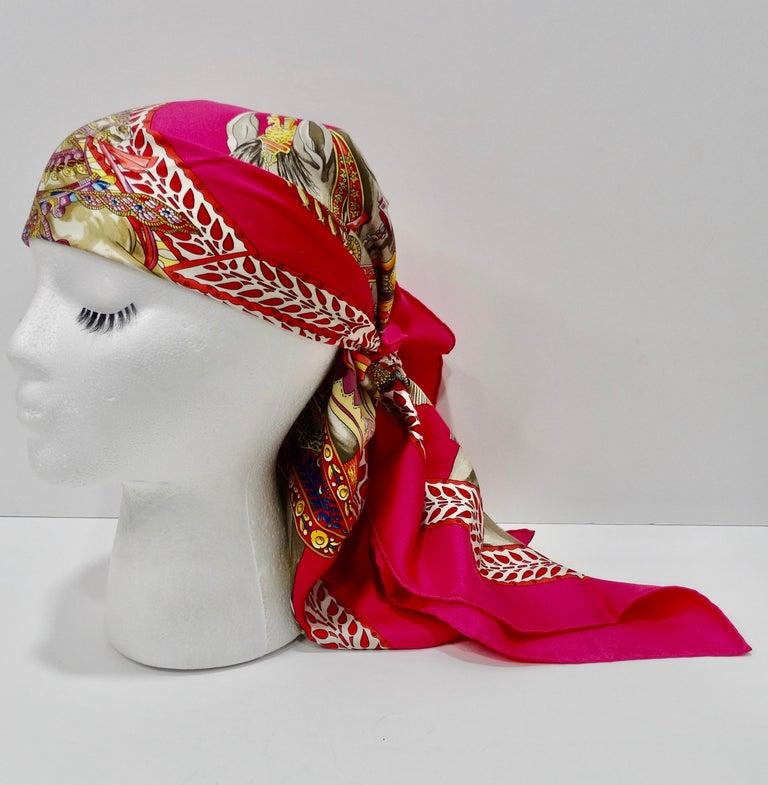 Hermès 'La Danse du Cheval Marwari' Silk Scarf  2
