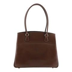 Hermes La Handbag Leather