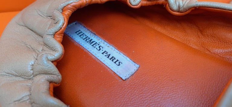 Hermès Leather Shoes Slippers Size 37 FR  For Sale 3