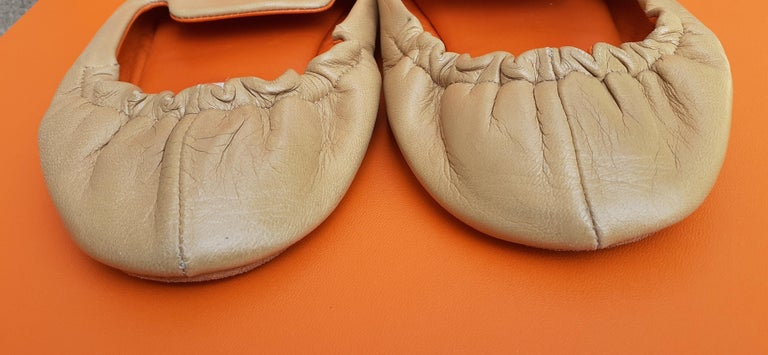 Hermès Leather Shoes Slippers Size 37 FR  For Sale 5