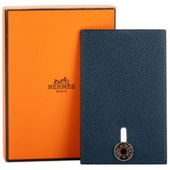 Hermes Leather Single Credit Card Case
