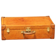 Hermès Leather Suitcase with Its Key