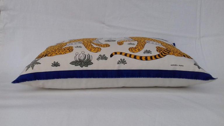 Women's or Men's Hermès Leopards Printed Cushion