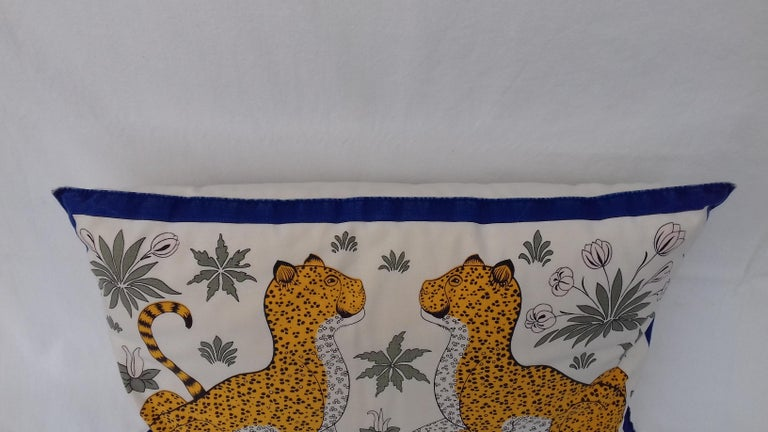 Hermès Leopards Printed Cushion 2
