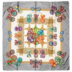 Hermes Les Rubans du Cheval Silk Scarf Created By Joachim Metz