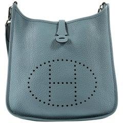 Hermès Light Blue Clemence Evelyne PM III
