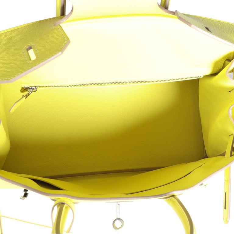 Hermès Lime Epsom Birkin 30 PHW 3