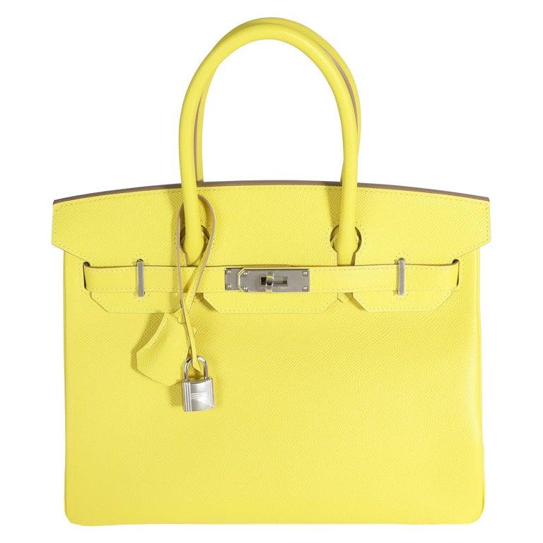 Hermès Lime Epsom Birkin 30 PHW