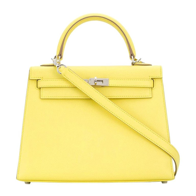 Hermès Limited Edition 25cm Candy Kelly Bag For Sale