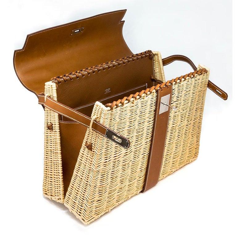Women's Hermès Limited Edition 35cm Kelly Picnic Bag For Sale