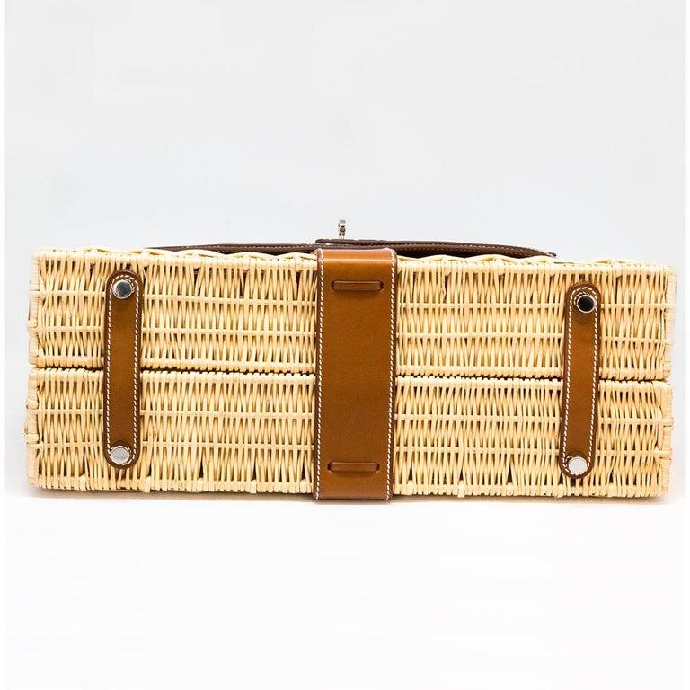 Hermès Limited Edition 35cm Kelly Picnic Bag For Sale 1