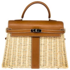 Hermès Limited Edition 35cm Kelly Picnic Bag