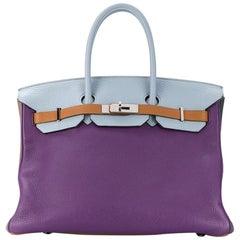Hermès Limited Edition Arlequin Harlequin 35cm Birkin Bag