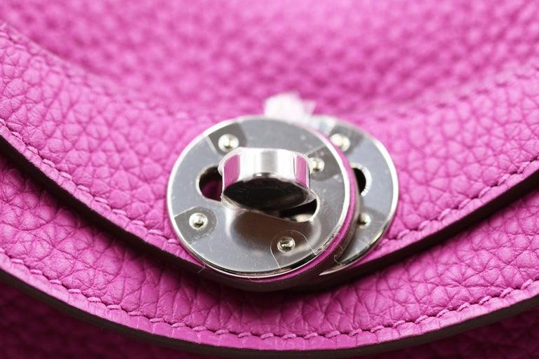 Hermès Lindy 26 Bag, Magnolia For Sale 5