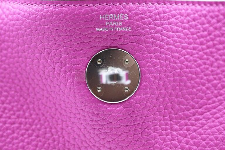 Hermès Lindy 26 Bag, Magnolia For Sale 2