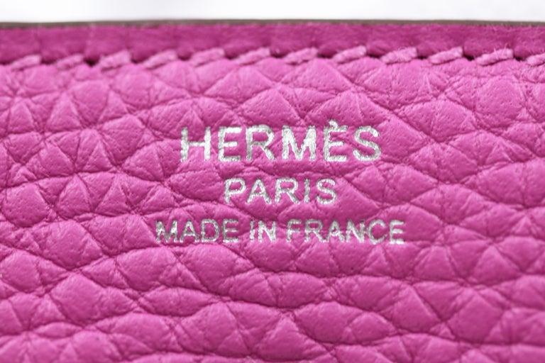 Hermès Lindy 26 Bag, Magnolia For Sale 3