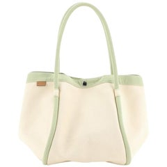 Hermes Lindy Beach Bag Toile