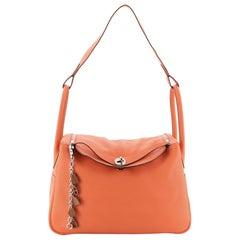 Hermes Lindy Handbag Clemence 34