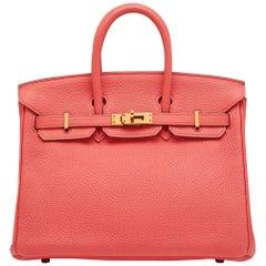 Hermes Lipstick 25cm Birkin Bag