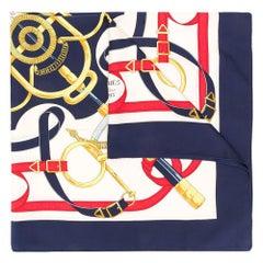 Hermès Logo Belt Print Scarf