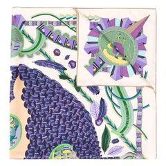 Hermès 'L'ombrelle Magique' Silk Scarf