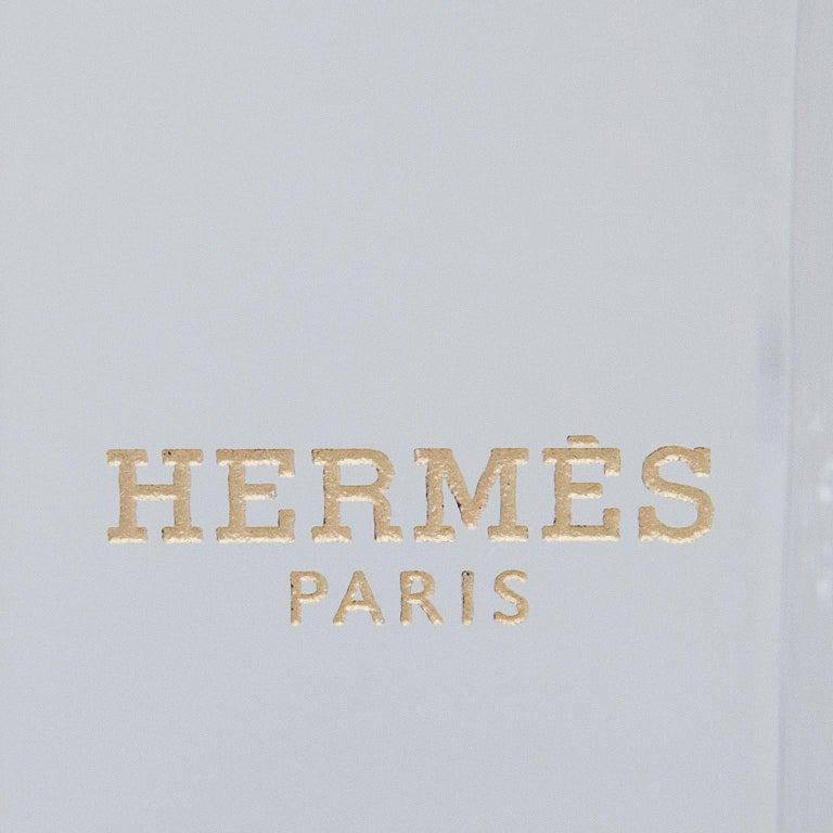 French Hermes Lucite Obelisk Desk Accessory, 1970 For Sale