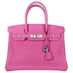 Hermès Magnolia Togo 30 cm Birkin Bag