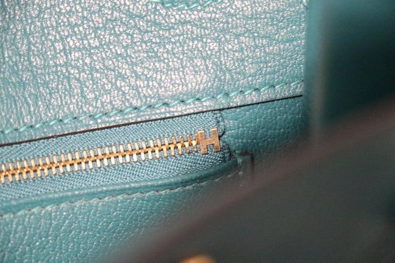 Hermès Malachite Togo 35 cm Birkin Bag 2