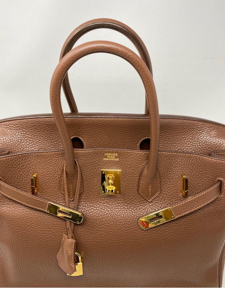 Hermes Maroon D'Inde Birkin 35 Bag For Sale 5