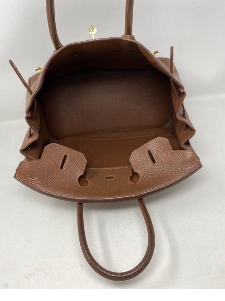 Hermes Maroon D'Inde Birkin 35 Bag For Sale 6