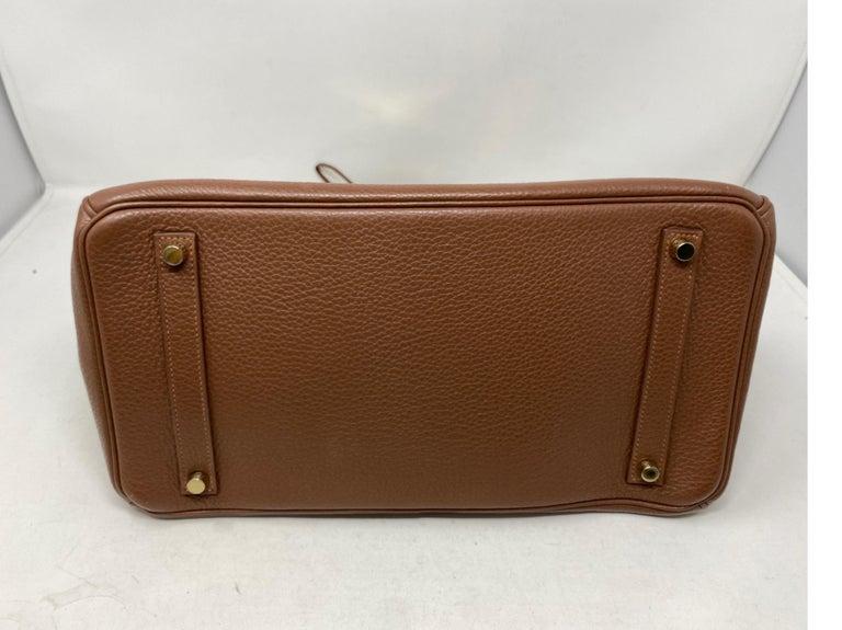 Hermes Maroon D'Inde Birkin 35 Bag For Sale 7