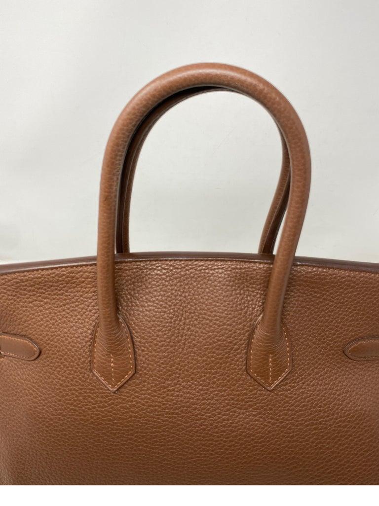 Hermes Maroon D'Inde Birkin 35 Bag For Sale 11