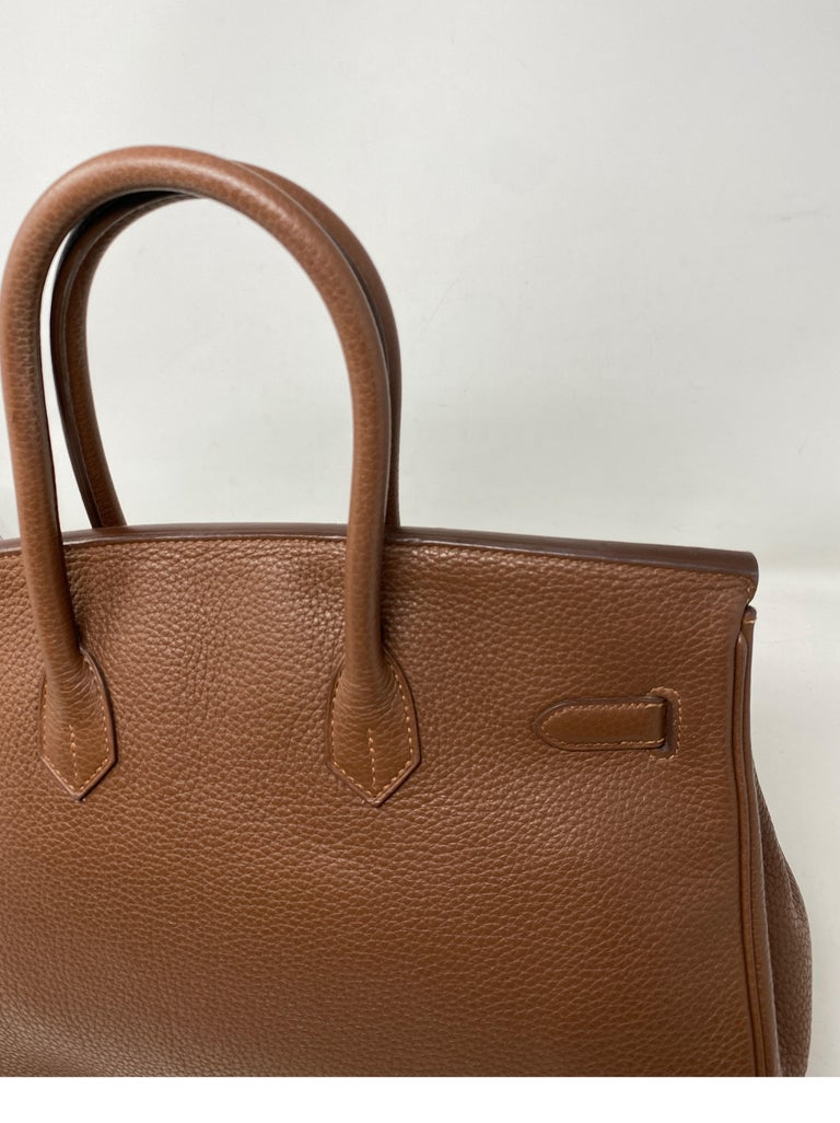 Hermes Maroon D'Inde Birkin 35 Bag For Sale 12