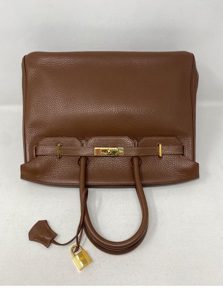 Hermes Maroon D'Inde Birkin 35 Bag For Sale 1