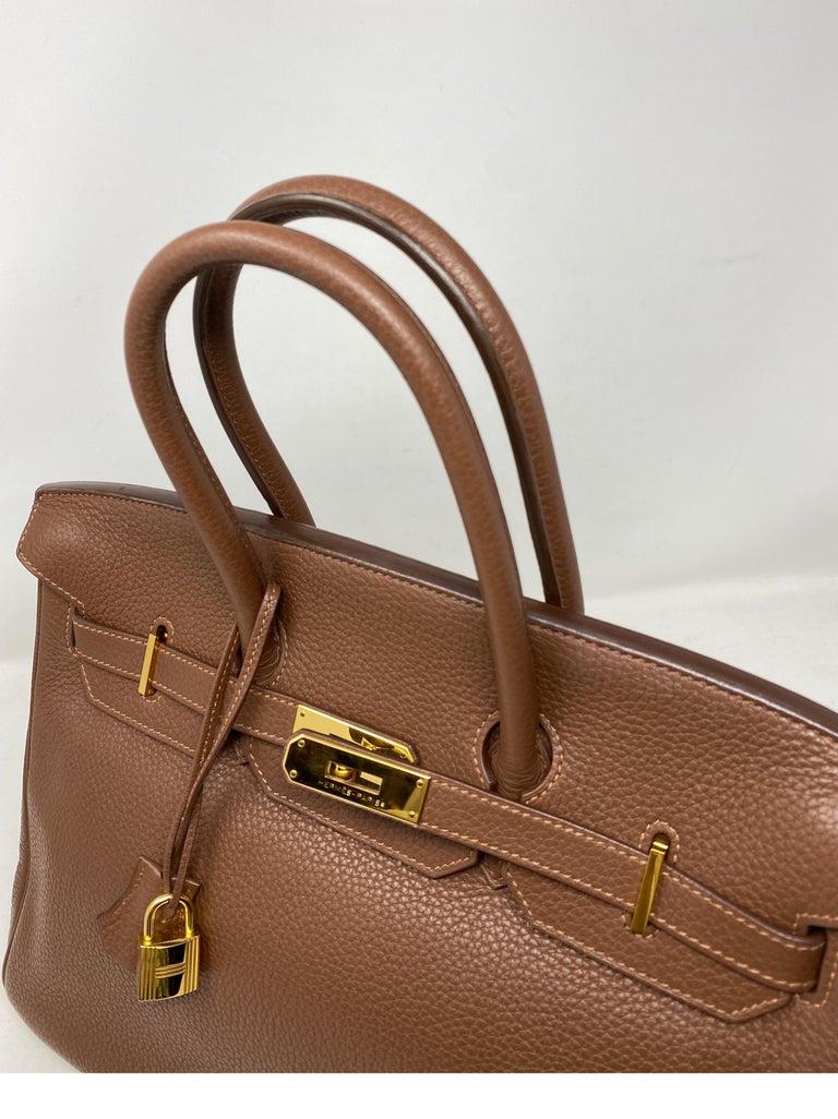 Hermes Maroon D'Inde Birkin 35 Bag For Sale 2