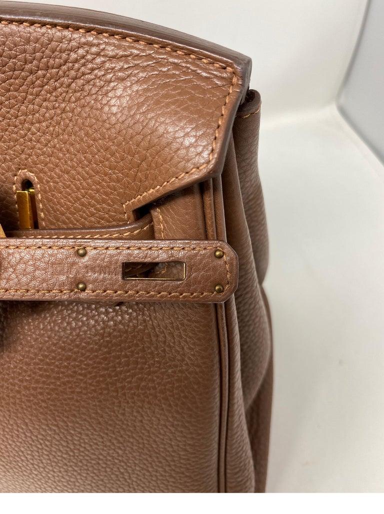 Hermes Maroon D'Inde Birkin 35 Bag For Sale 3