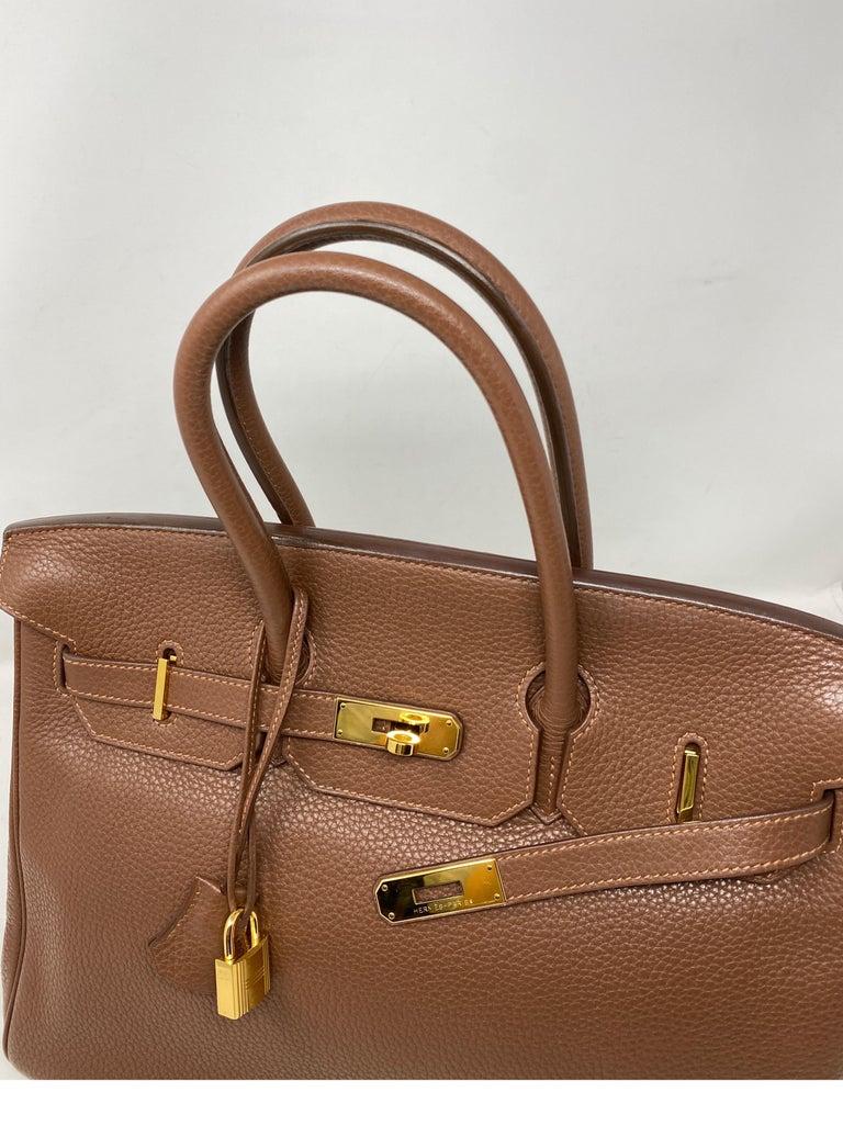 Hermes Maroon D'Inde Birkin 35 Bag For Sale 4