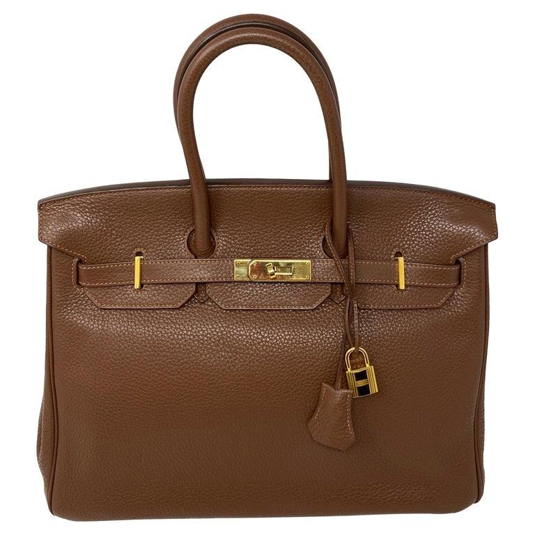 Hermes Maroon D'Inde Birkin 35 Bag For Sale