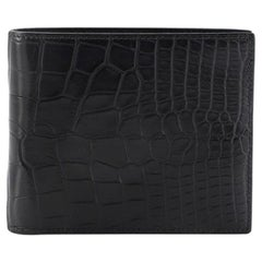 Hermes MC2 Copernic Colorblock Wallet Matte Alligator Compact
