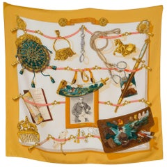 Hermes Memoire d Hermes by Latham Silk Scarf